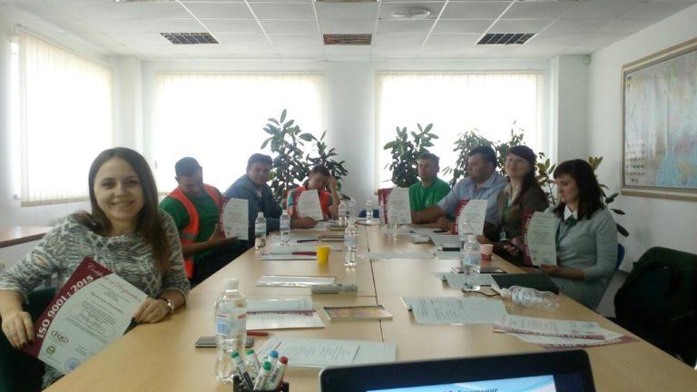 Корпоративное обучение на базе ведущего предприятия по производству гофрокартонной упаковки ООО «Дунапак Таврия»